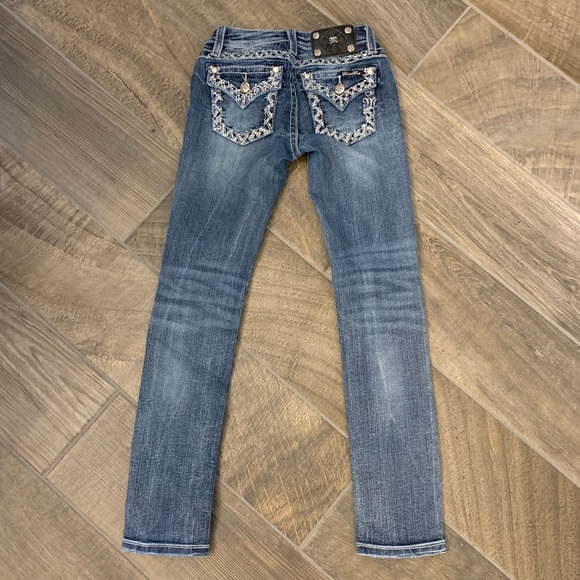 Miss Me Other - Girls Miss Me Skinny Jeans JK70345 Size 10